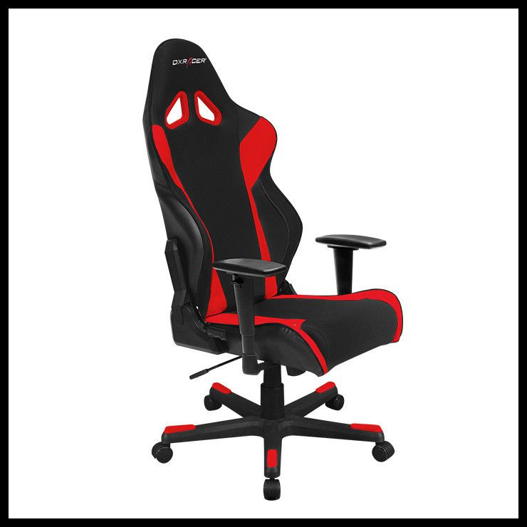 red black dxracer racing series gaming chair oh rw106 nr gamers