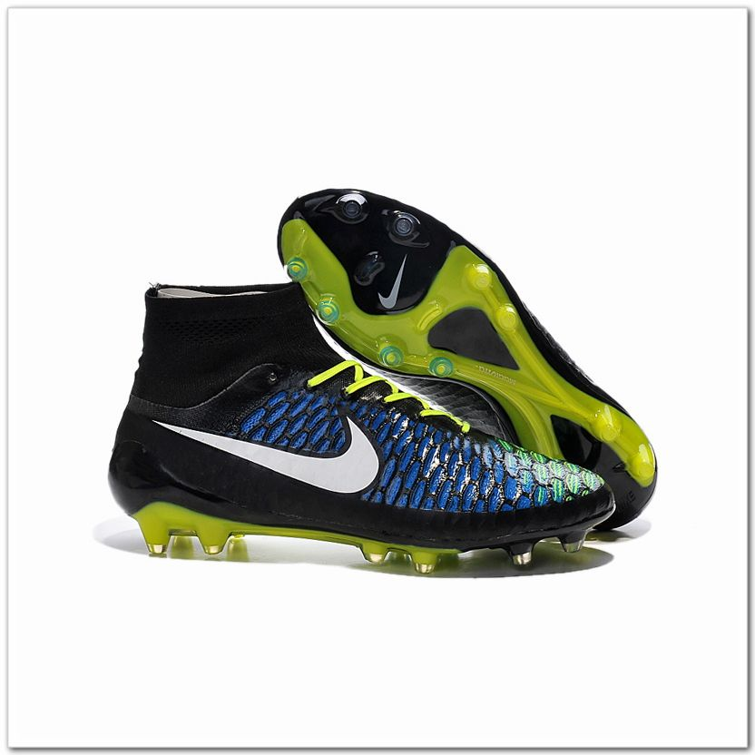 Nike Magista Obra FG Leather 2015 Soccer Cleat Rainbow Colors 10788