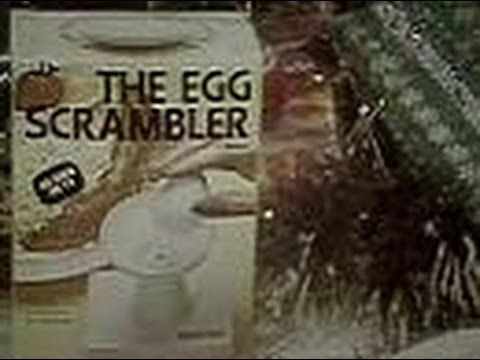 The Egg Scrambler By Ronco (Commercial, 1978) - YouTube