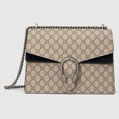 Photo of Gucci Dionysus medium GG shoulder bag  Dionysus GG Supreme s…