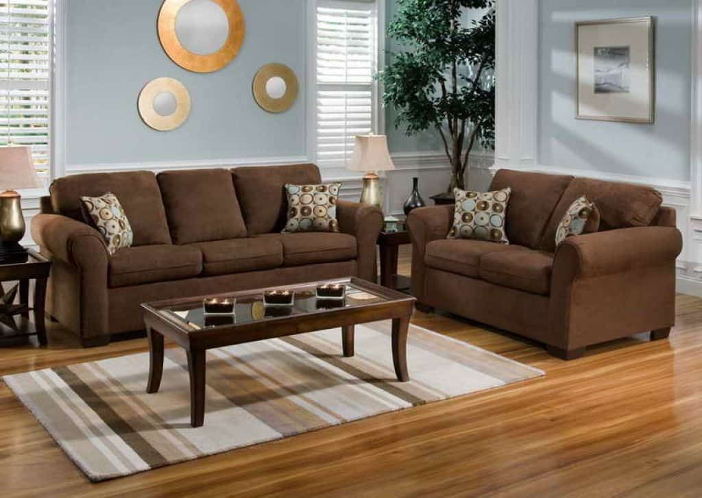 Good Paint Color Goes Best With Brown Furniture Brown Sofa Living Room Brown Living Room Decor Living Room Decor Brown Couch
