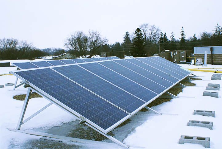 John Mccrae Public School 10kw Custom Solar Power System Solar