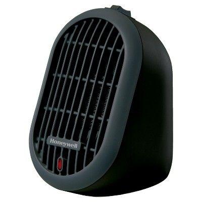Honeywell Heatbud Ceramic Heater Black Target Portable