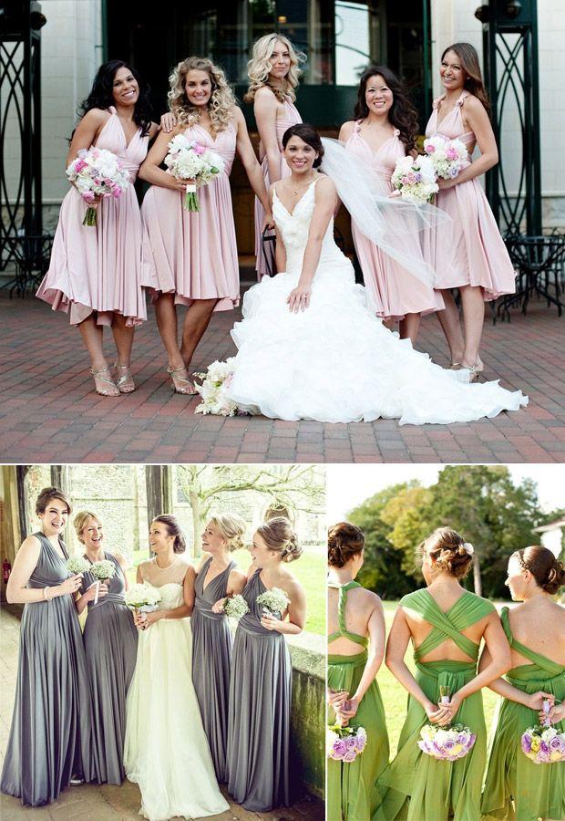 d0d04e3f4f1 mismatched convertible colorful bridesmaid dresses ideas for 2015