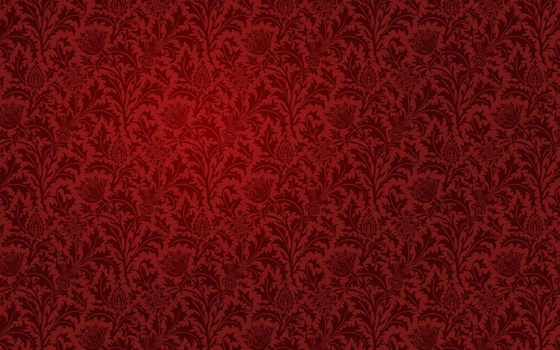 Red Wallpaper Hd Vintage Flowers Wallpaper Red Gold