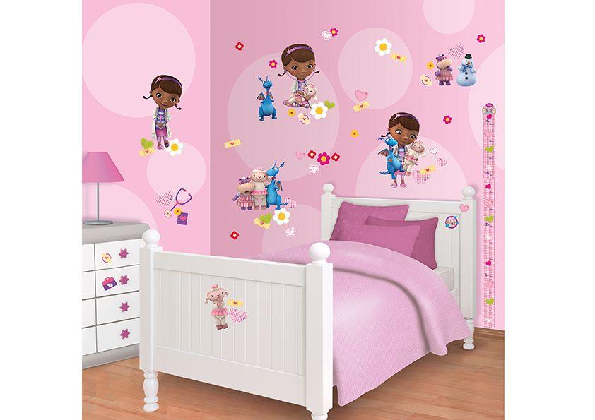 disney doc mcstuffins room decor kit docmcstuffins