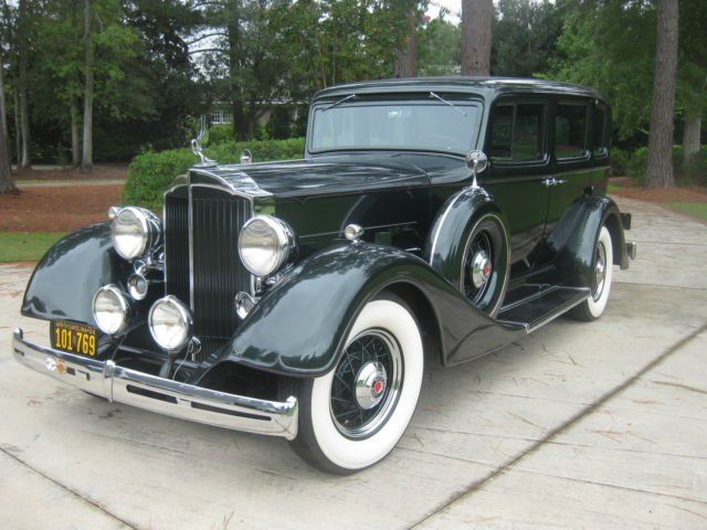 Packard Model Deluxe Sedan Old Rides Pinterest