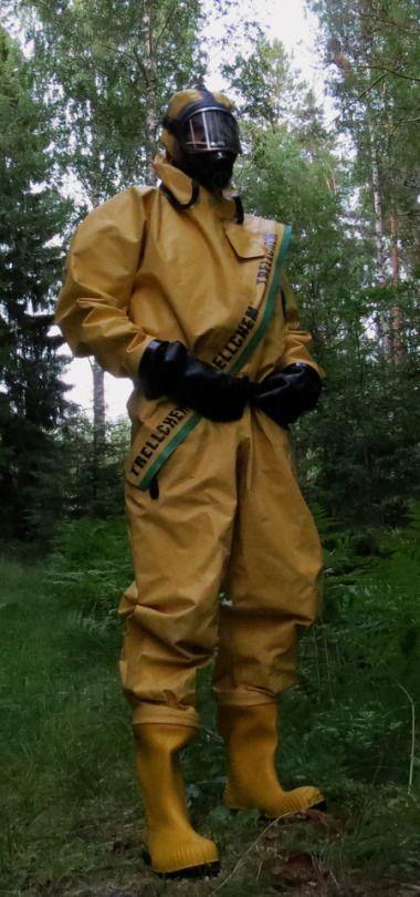 Camo78fs Schutzanzug Gummianzug Arbeitssachen