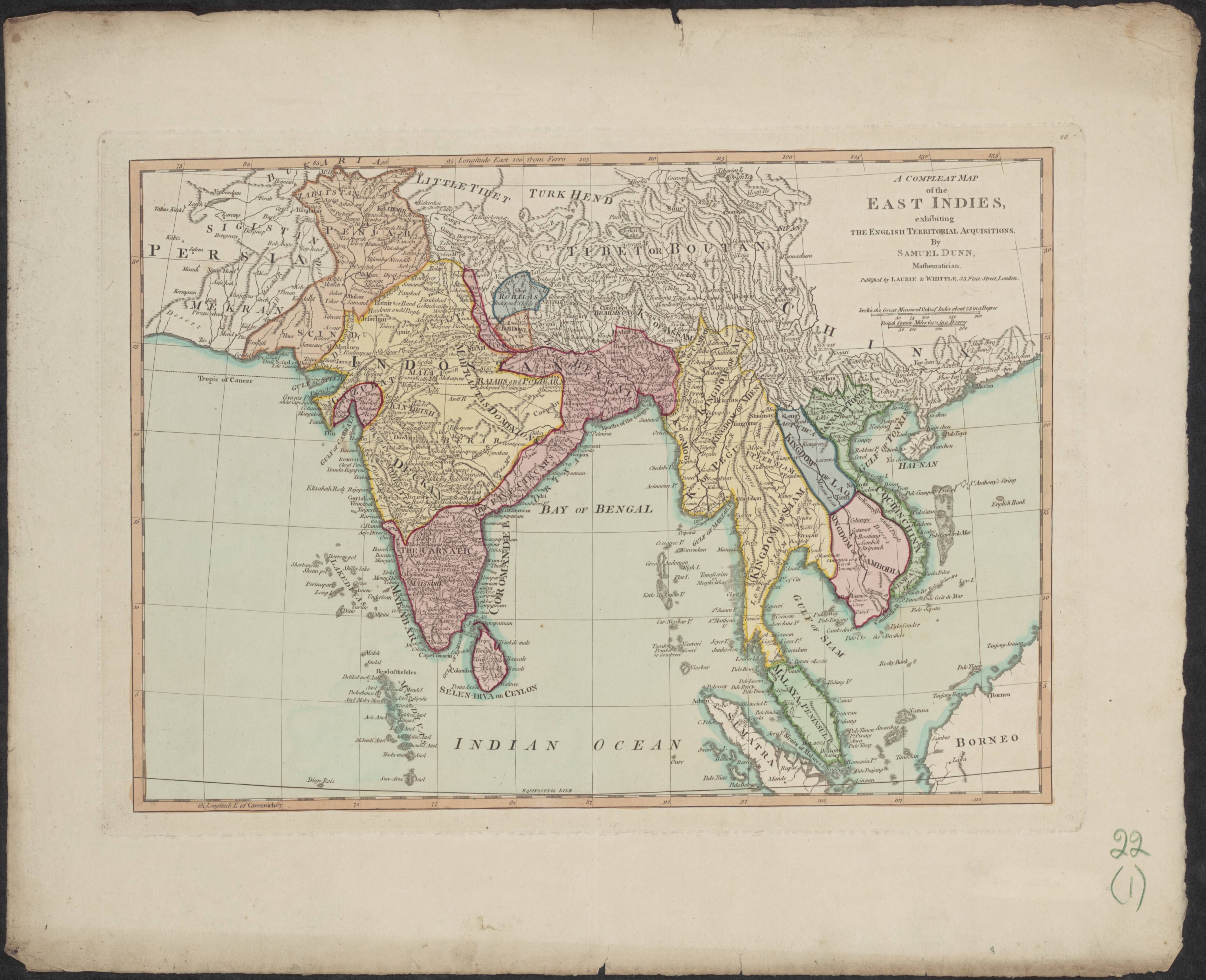 Map Of South East Asia And India East In S