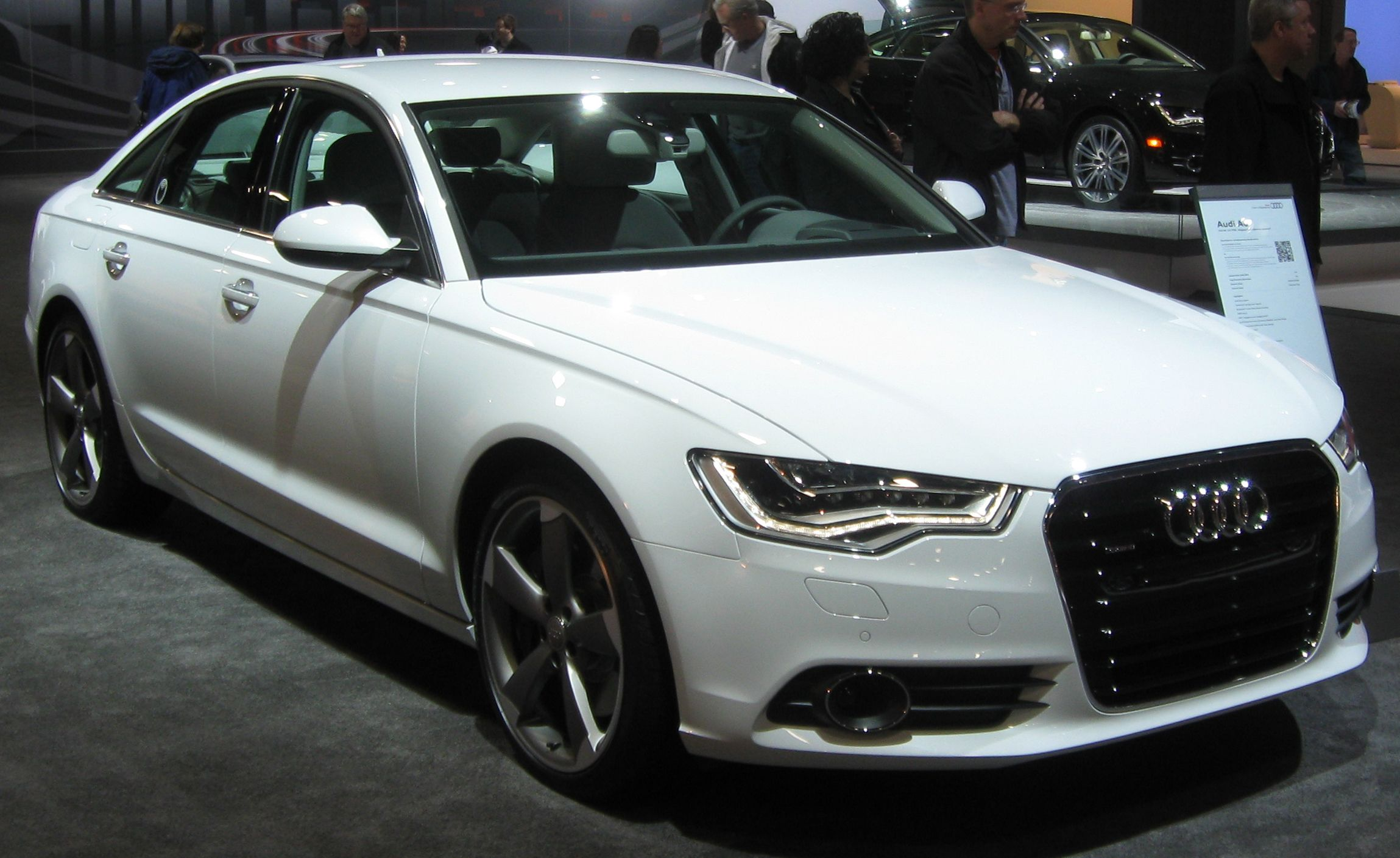 Charmant Audi A6 In 3M Satin White Aluminium Matt. | Audi A6 | Pinterest | Audi A6,  Car Wrap And Cars