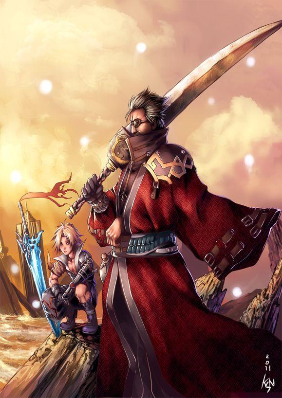 Master and Pupil by ~khanshin - Final Fantasy X - Auron
