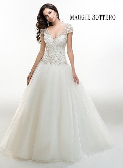 Vestidos de novia con corpino de pedreria