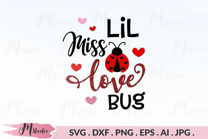 Download Lil Miss Love Bug svg. in 2020 | Design bundles, Cricut ...