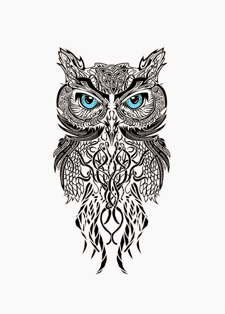 Uncategorized Small Owl Drawing owl tattoo design tattoos pinterest design