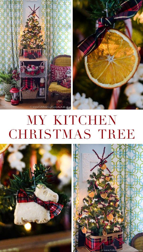 How to Decorate a Kitchen Christmas Tree | HOLIDAY TOURS 2015 ...