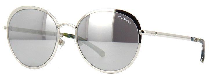 Óculos de sol Chanel 4206 Prata - Chanel você encontra aqui. Compre com  frete grátis! 4b28922d10