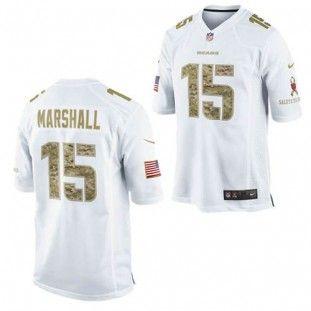 sports shoes b0219 da7c0 Chicago Bears Nike NFL Brandon Marshall #15 Salute to ...
