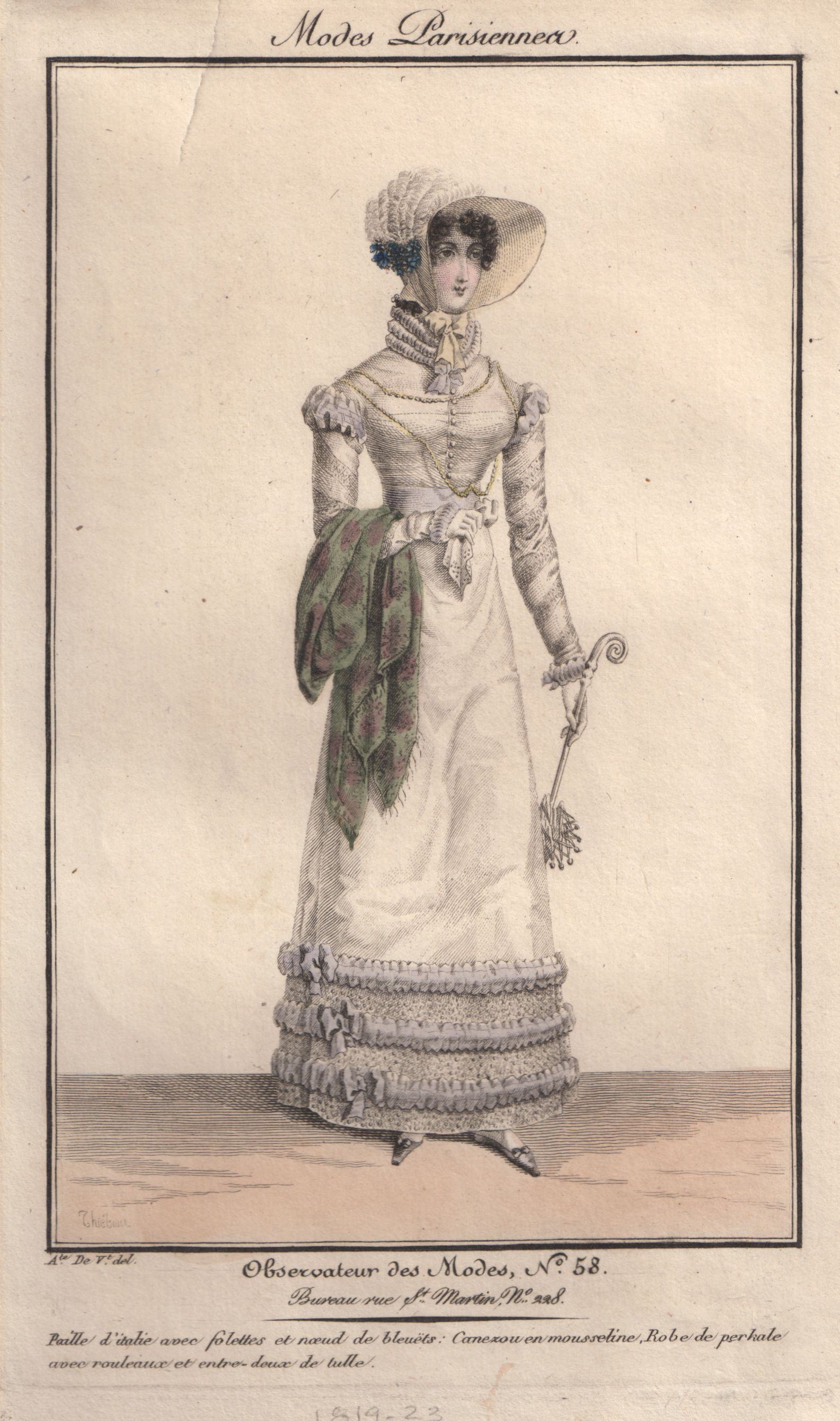 Plate 58 - Observateur des Modes