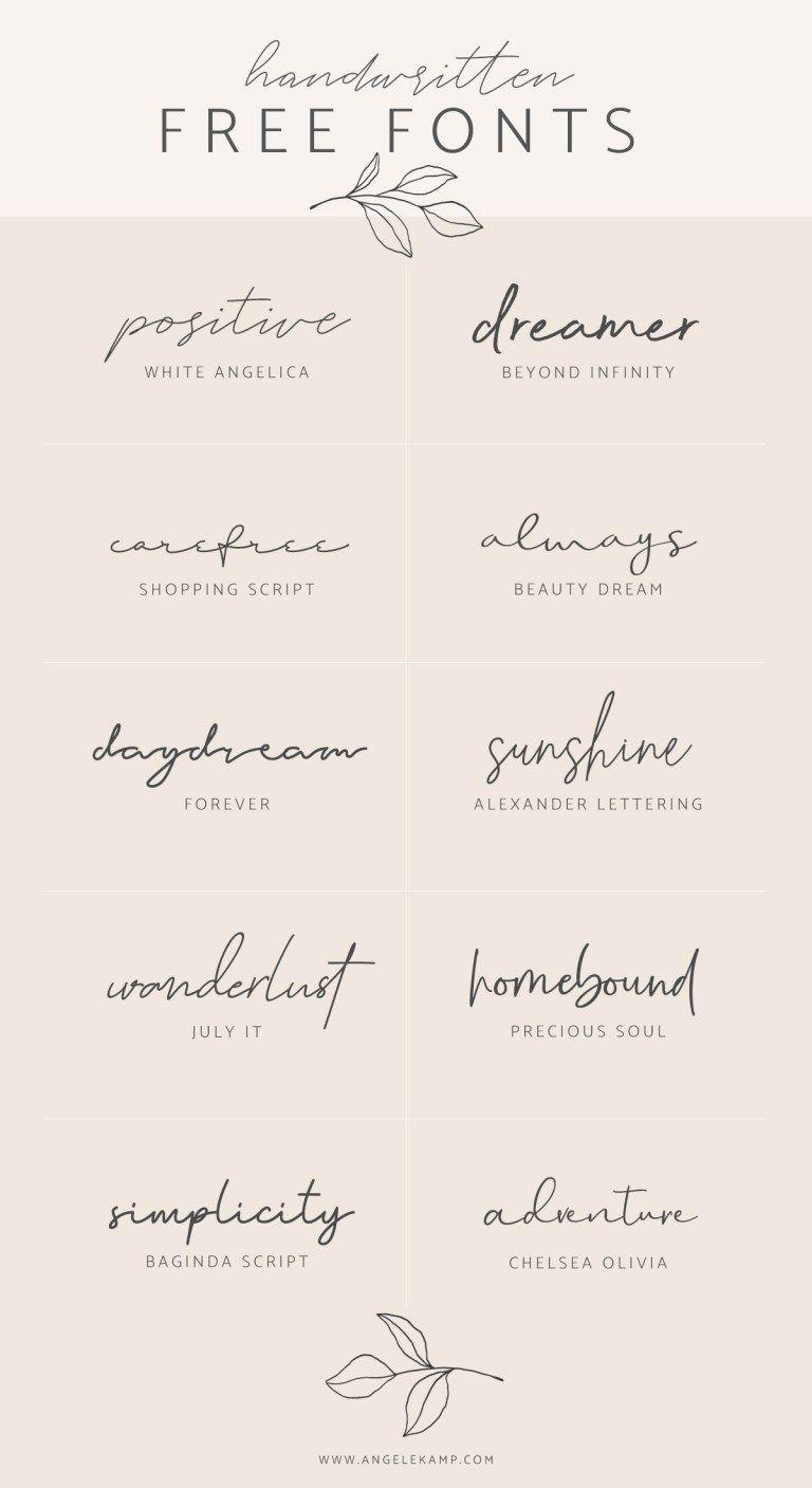Tipografia De Letra Para Tatuajes