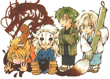 Resultado de imagen de akatsuki no yona