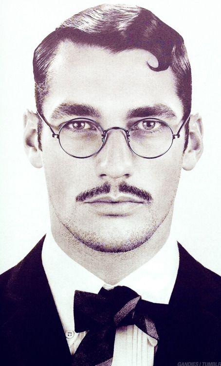 20s look. David Gandy