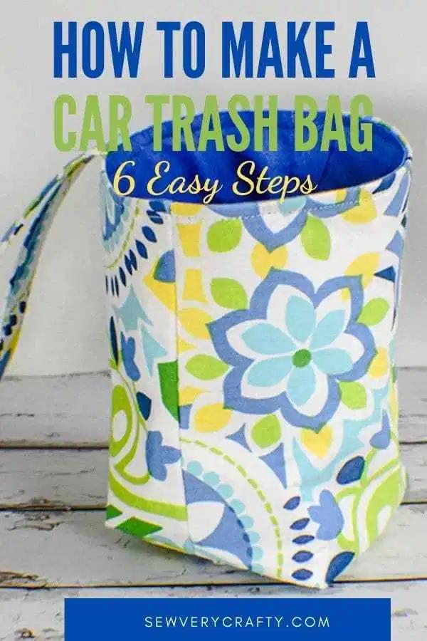 Sac poubelle de bricolage facile   – Sewing Projects