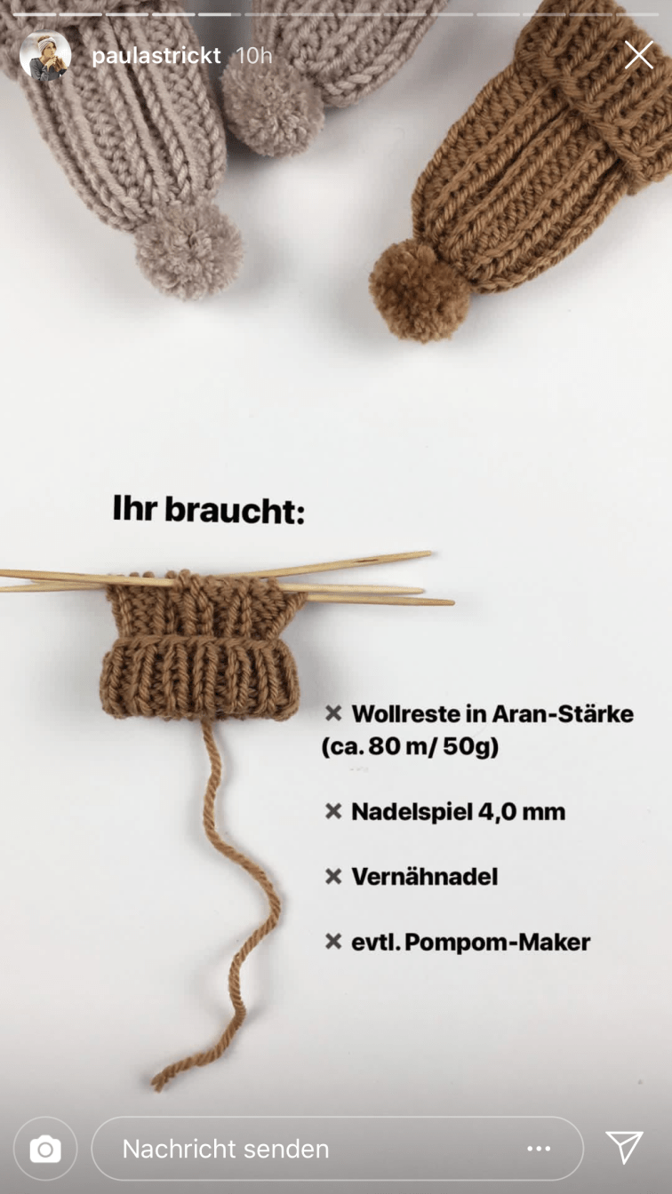 Photo of Eierwärmer DIY aus Wollresten • FinasIdeen