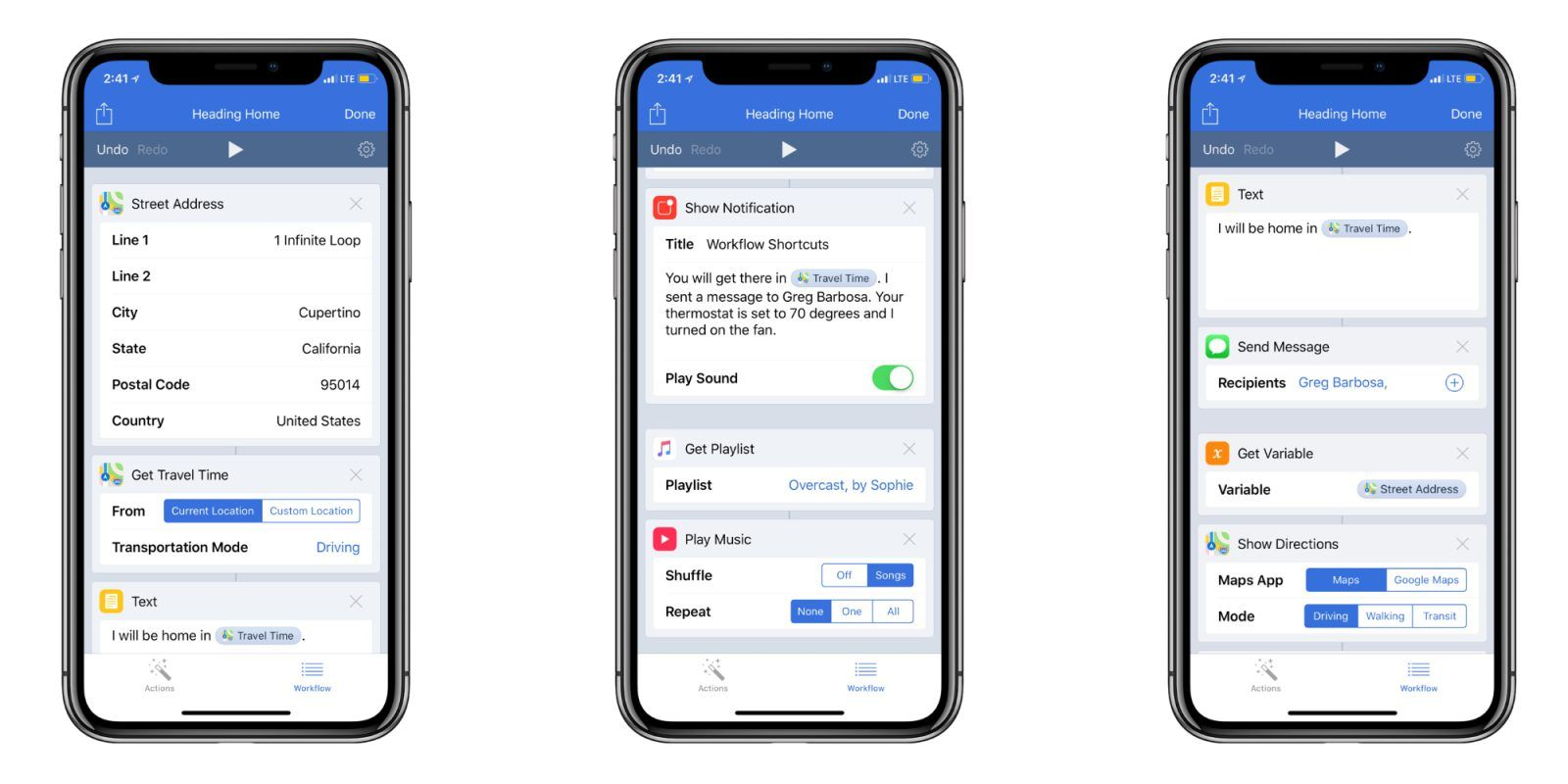 iOS 12 How to create custom Siri Shortcuts Page template