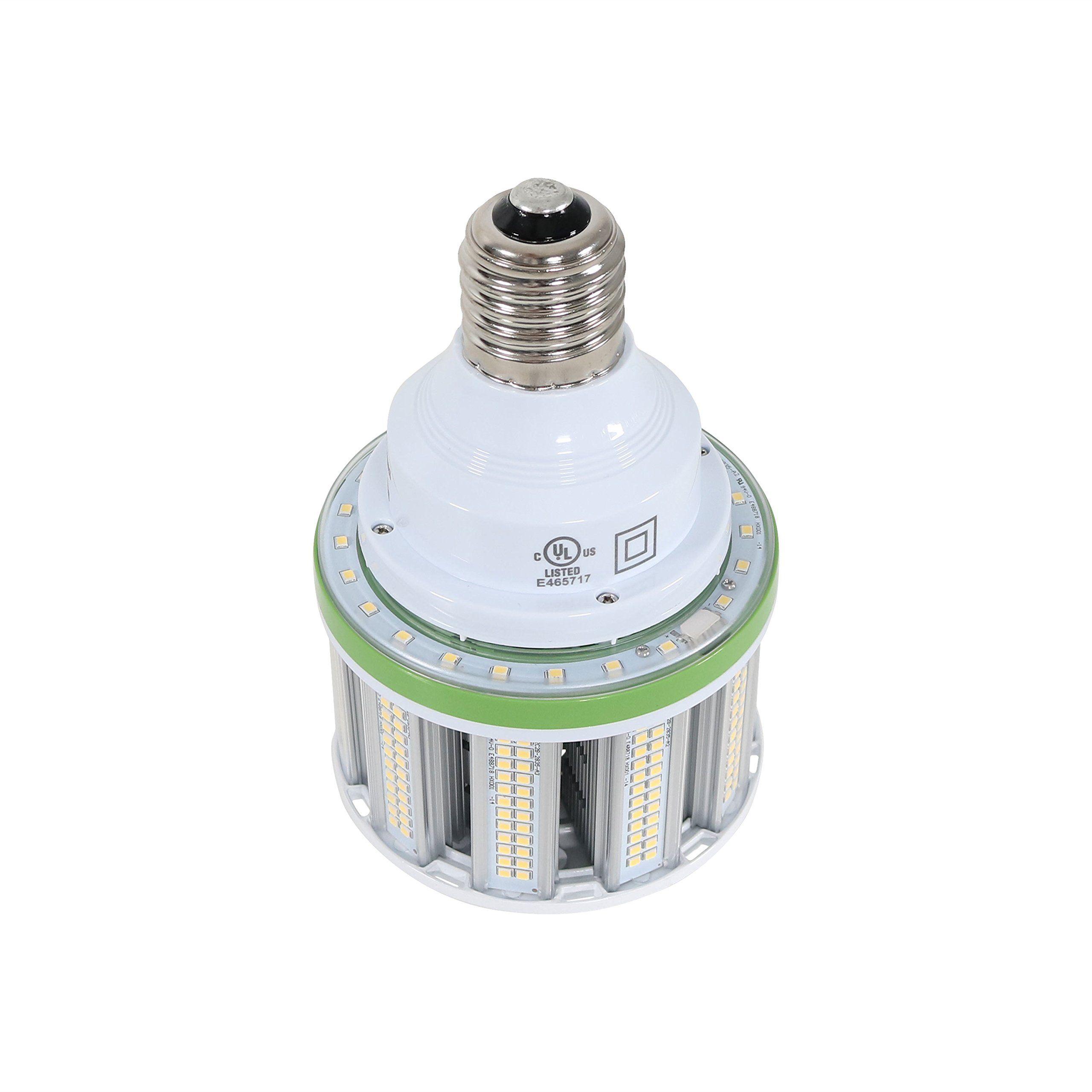 40w Watt Led Corn Light Bulb 5000k 5200 Lumens Mogul E39 Base Latest Gen Large Heat Sink For Garage High Bay Warehouse Workshop Sho Light Bulb Bulb Light Bulbs