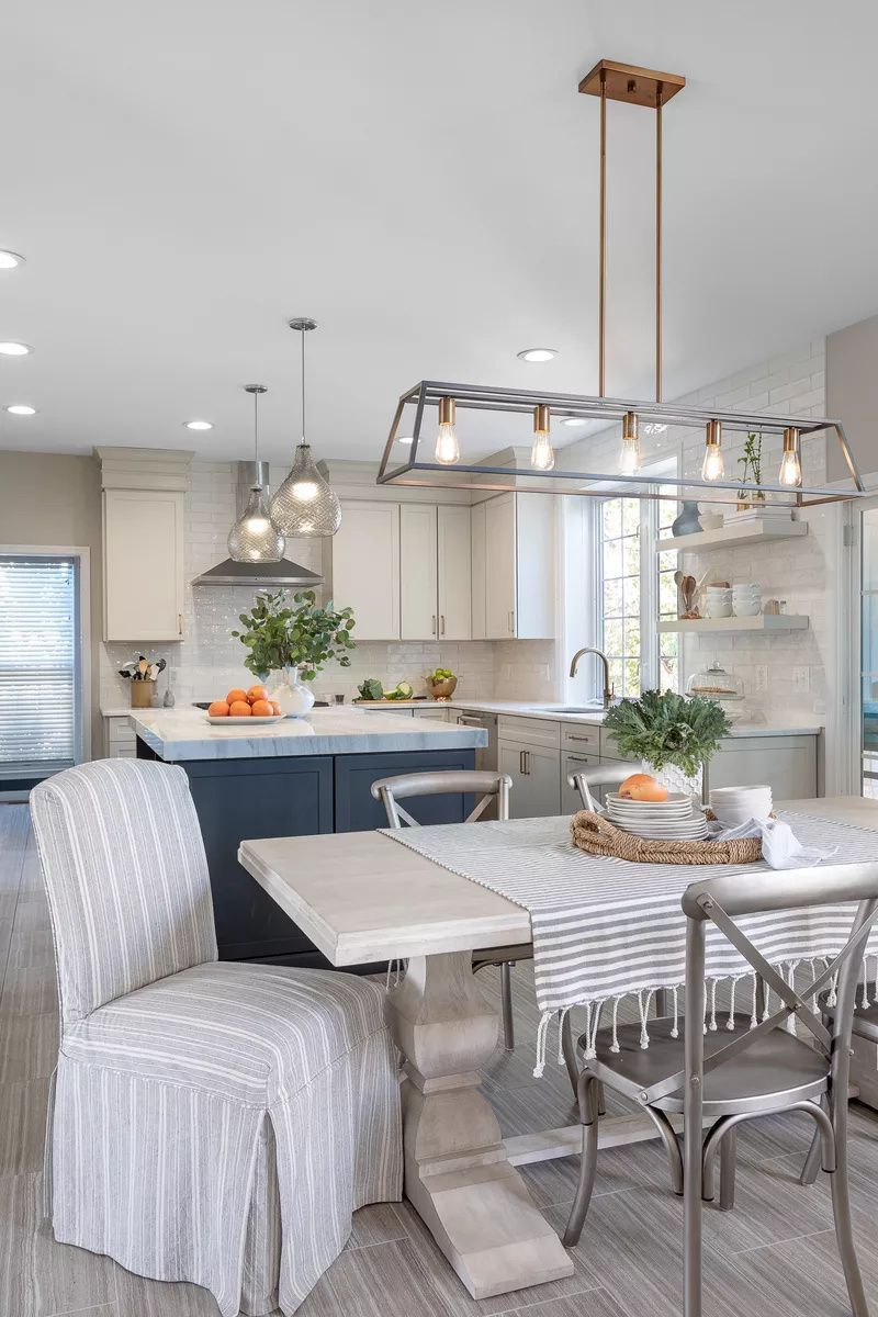 20 Modern Farmhouse Dining Rooms That Will Transport You To The Countryside In 2020 Modern Farmhouse Dining Room Farmhouse Dining Room Farmhouse Dining Room Lighting