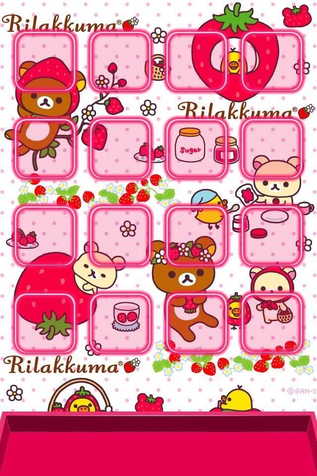 Rilakkuma Iphone Wallpaper かわいい リラックマ コリラックマ