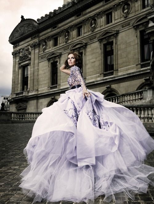photographer: Mario Sierra  dress by Zuhair Murad, Autumn Winter 2009-2010 haute couture collection