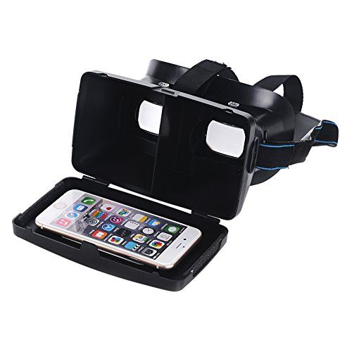 Chinatera Super Cool Virtual Reality 3D Glasses for 35  6 Inch Android  IOS Phones * To view further for this item, visit the image link.Note:It is affiliate link to Amazon.