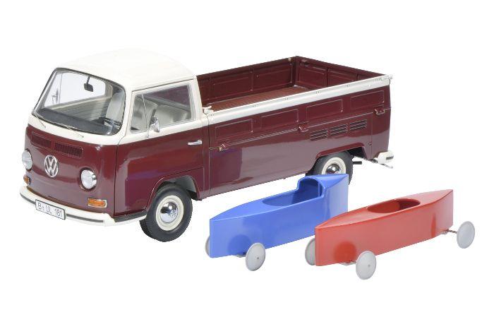 SCHUCO :: VW T2 Pritsche mit Seifenkisten