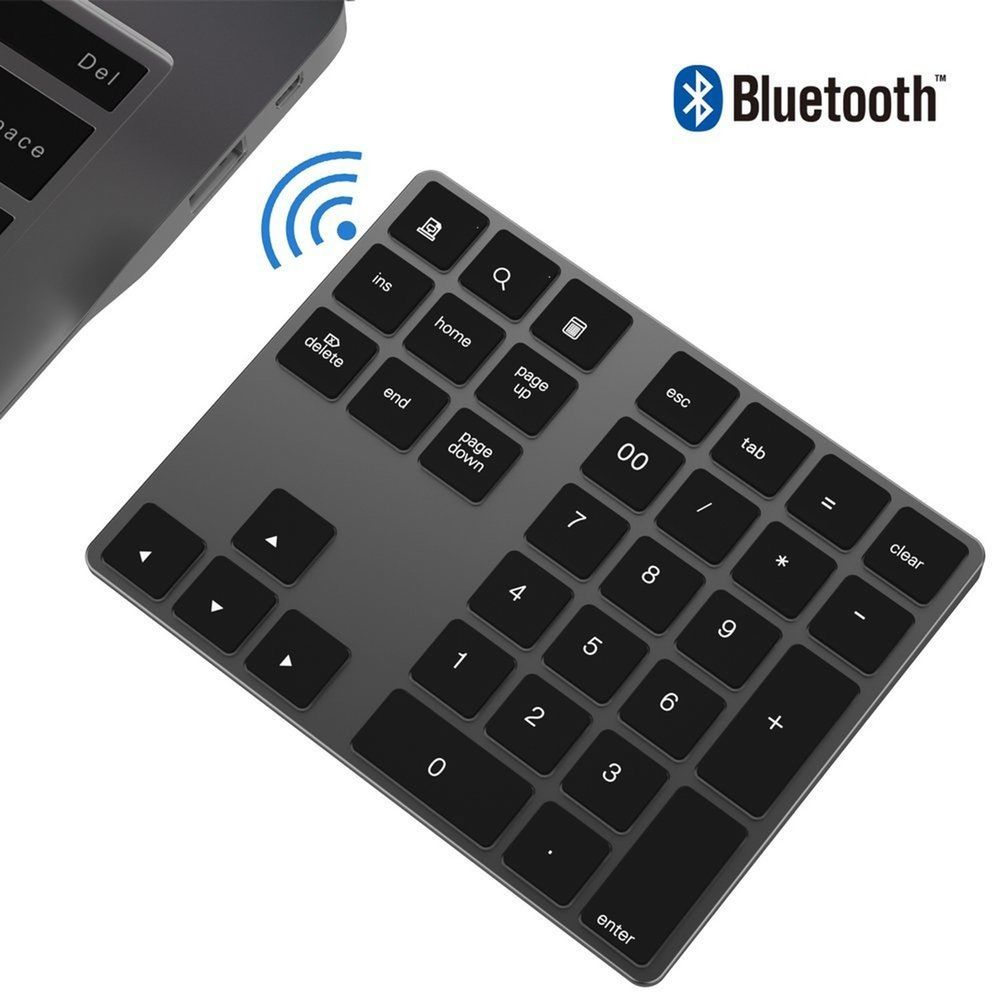 b8e00764976 Bluetooth Numeric Keypad IKOS Portable Wireless Bluetooth 34-key Externa...  New (eBay Link)