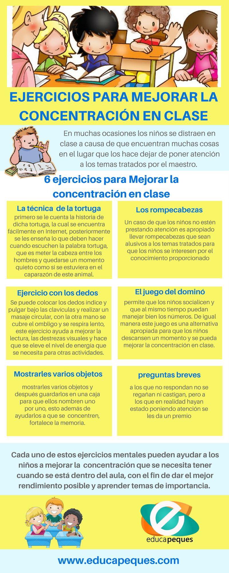Pe ejercicios para mejorar la concentraci n lesbos - Mejorar concentracion estudio ...