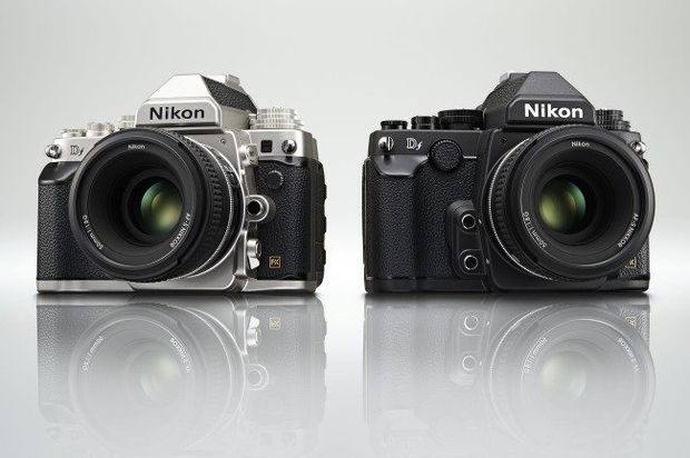 The Nikon Df is a full-frame mirrorless compact camera that takes a few design cues from classic cameras. The Nikon Df and 50mm f/1.8 kit will cost $2,996.95.