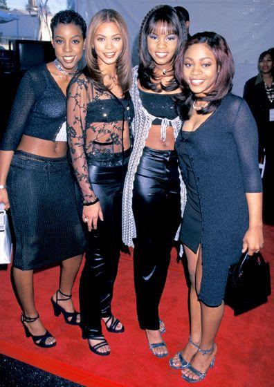 90s Celebrity Fashion Flashback Destiny S Child Beyonce Style 90s Fashion