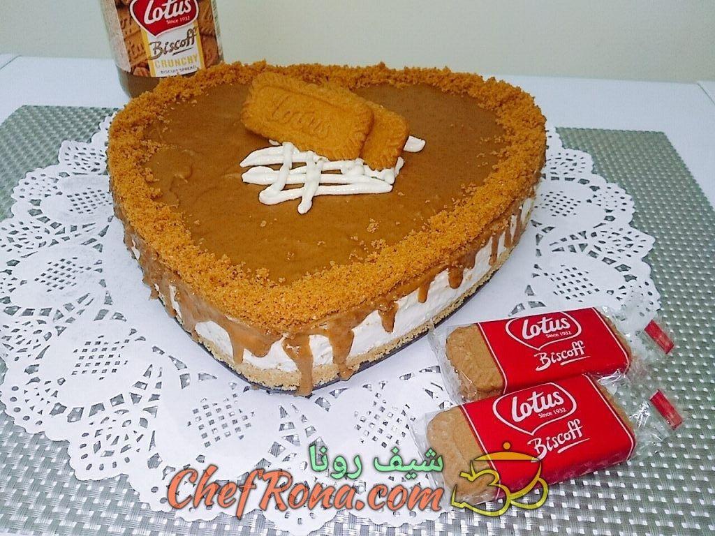 تشيز كيك اللوتس سهلة وطعمها رائع Desserts Food Cooking Recipes