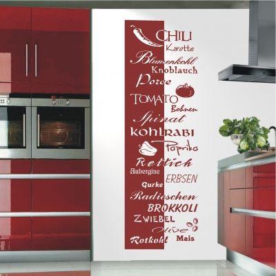 deko-shop-24de-Wandtattoo-Banner Gemüse Wandtattoo Küche - wandtatoo für küche