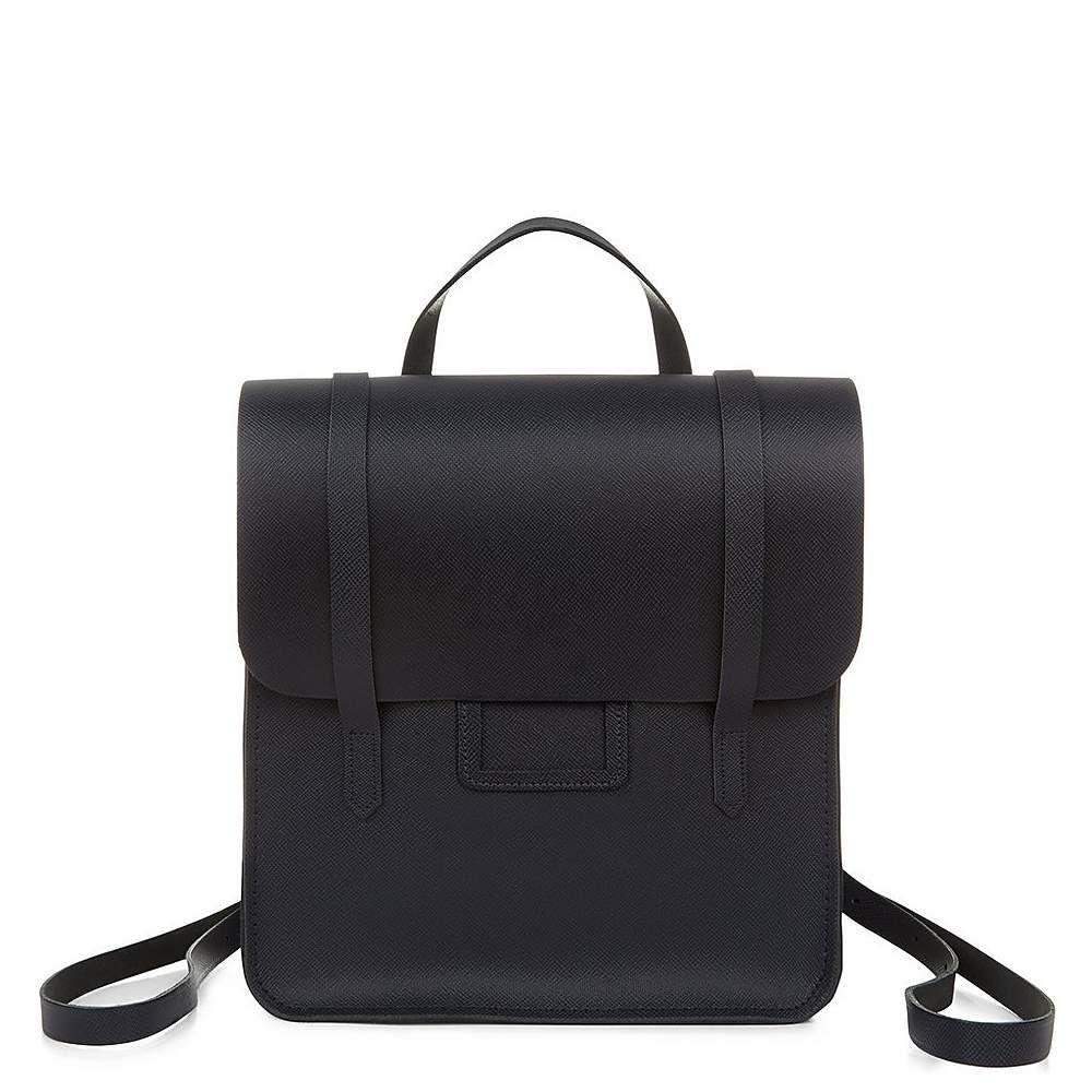 The Folio Backpack in Saffiano Leather