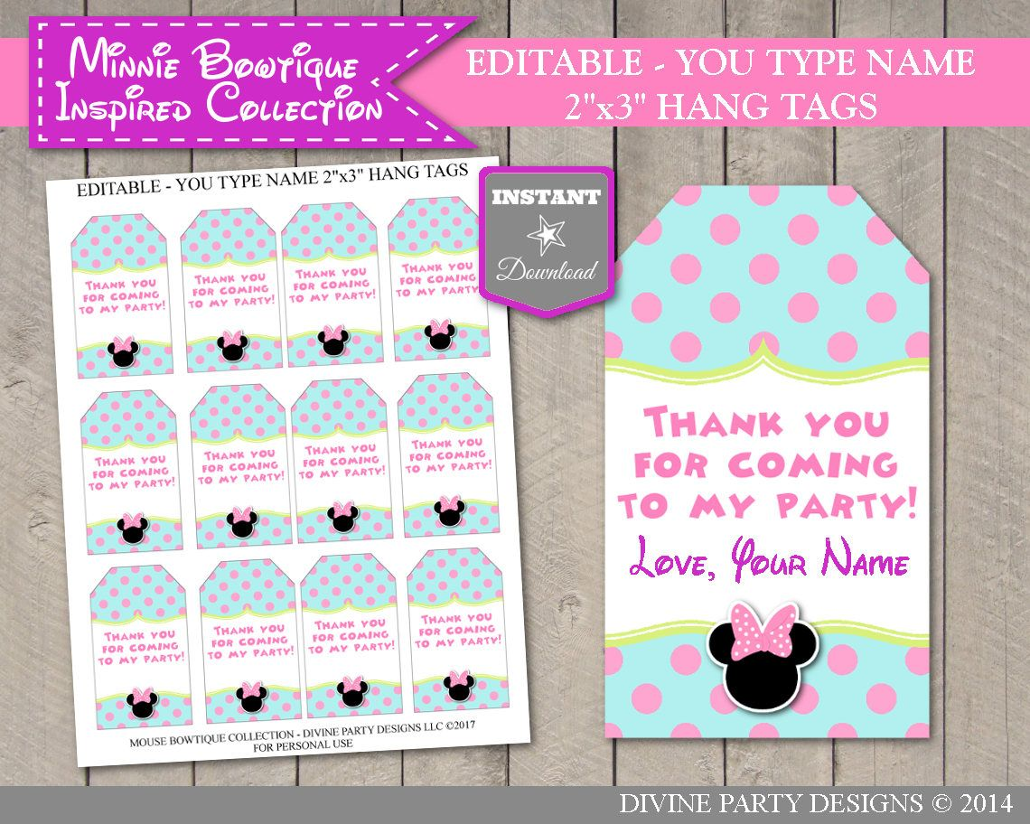 pin on minnie mouse bowtique birthday party ideas