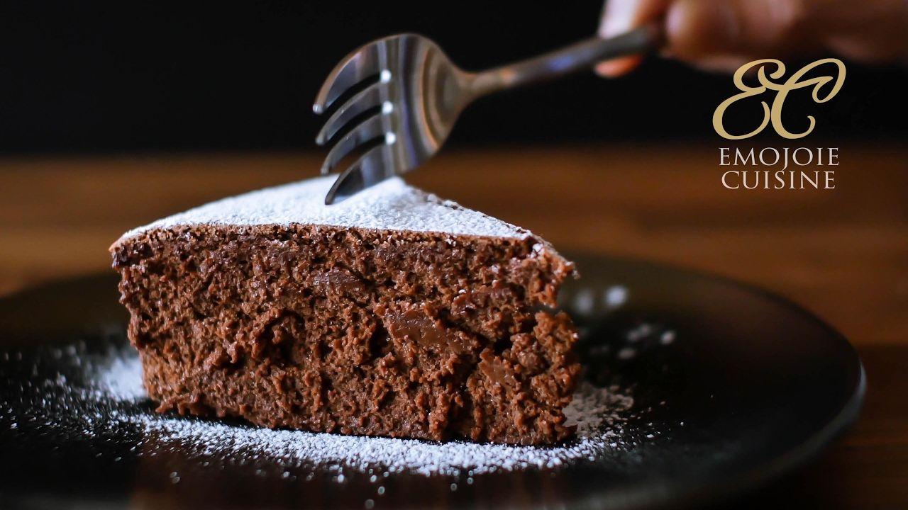 Flourless Chocolate Cake Gluten Free   4 ingredients recipe