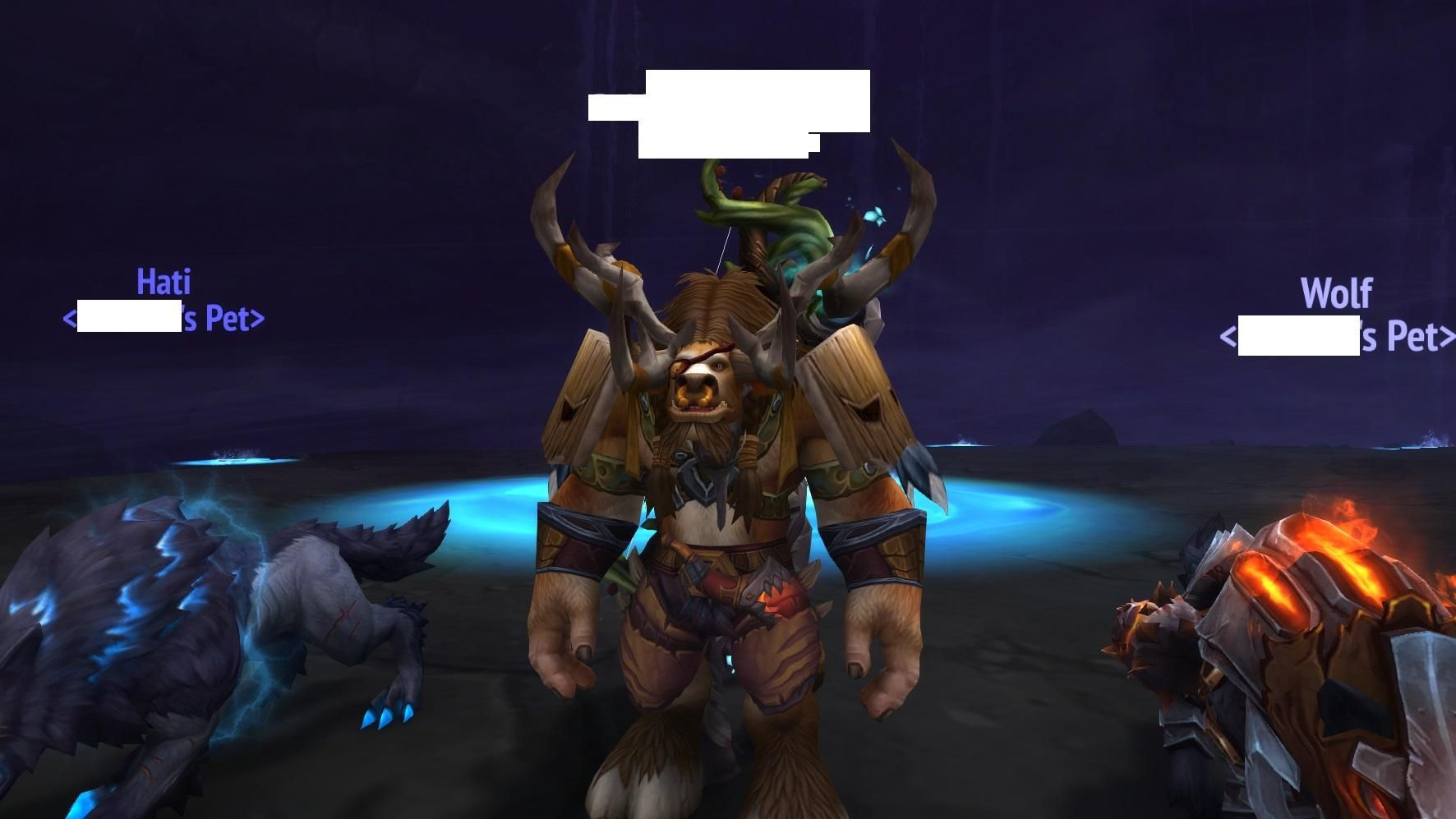 Druid Travel Form Tauren And You Get A Cheap Highmountain