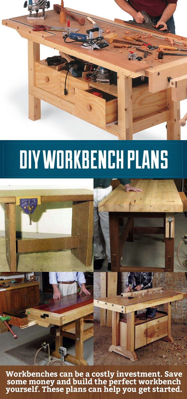 Diy Workbench Plans Save Some Money And Build Your Own