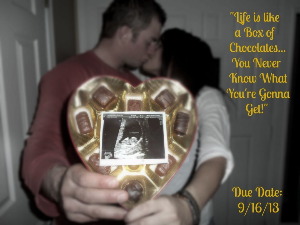 valentines day pregnancy announcement Baby – Ultrasound Baby Announcements