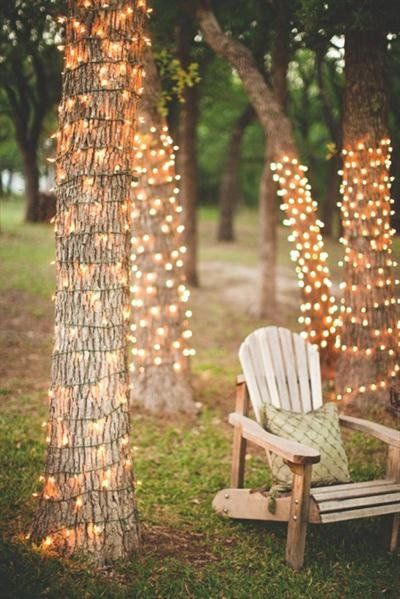 backyard wedding lighting ideas. cheap wedding lighting ideas by putting lamp on trees exterior ideaz backyard