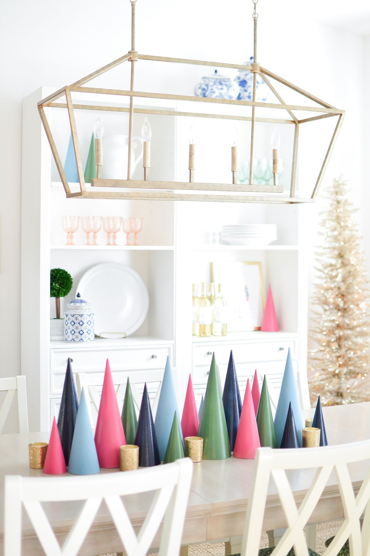 Colorful Christmas DecorTable Settings Southern T13lKFJc