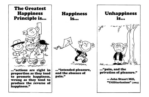 Action Philosophers Two Millennia Of Philosophy In Comic Form What Is Happiness Philosophy Quotes Ethics Quotes