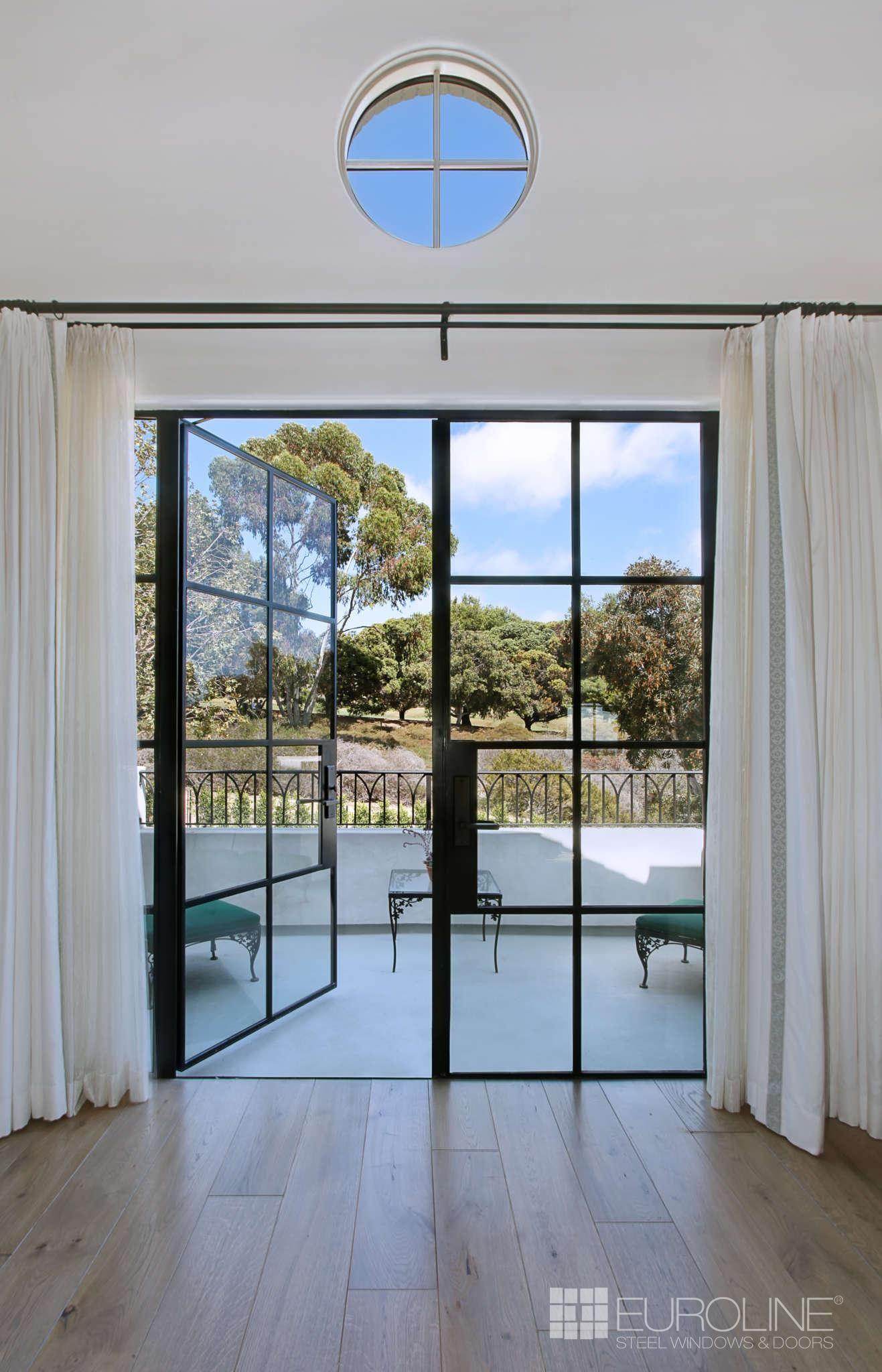 Luxury Steel Swing Doors Euroline Steel Windows French Doors Patio French Doors Bedroom Black French Doors